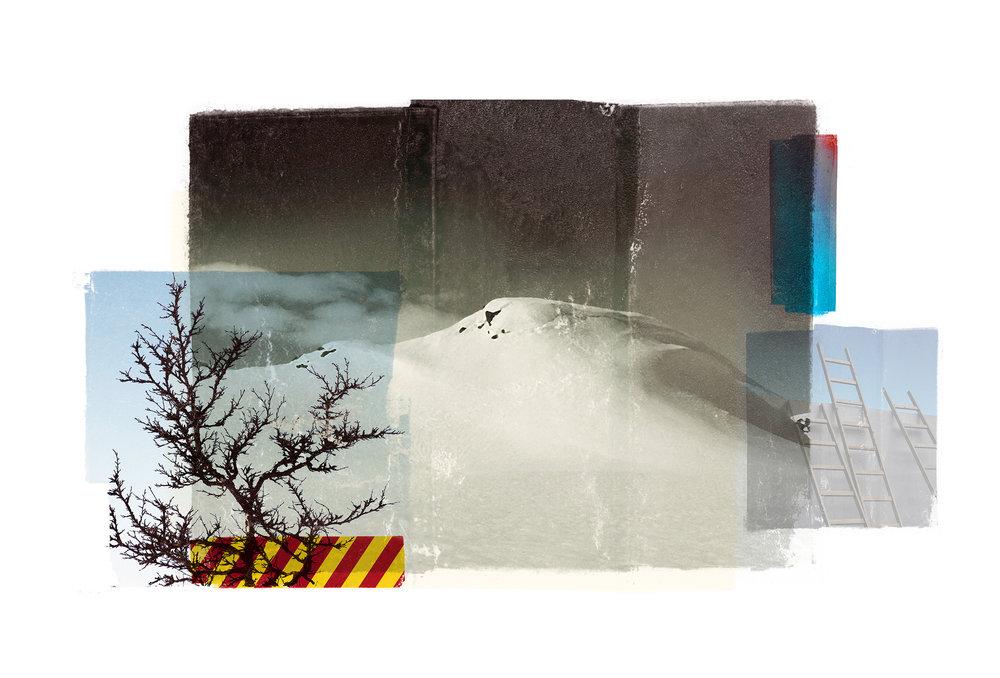 Reservoir / Venia (After the storm)  Original Archival UV Pigment Print / BFK Rives 250 gr 56 x 35 cm / 22 x 13,7 in Edition of 50 + 7 Ap Editeur: Per Fronth Studios / Printer Henrik Aunevik  07/2015: