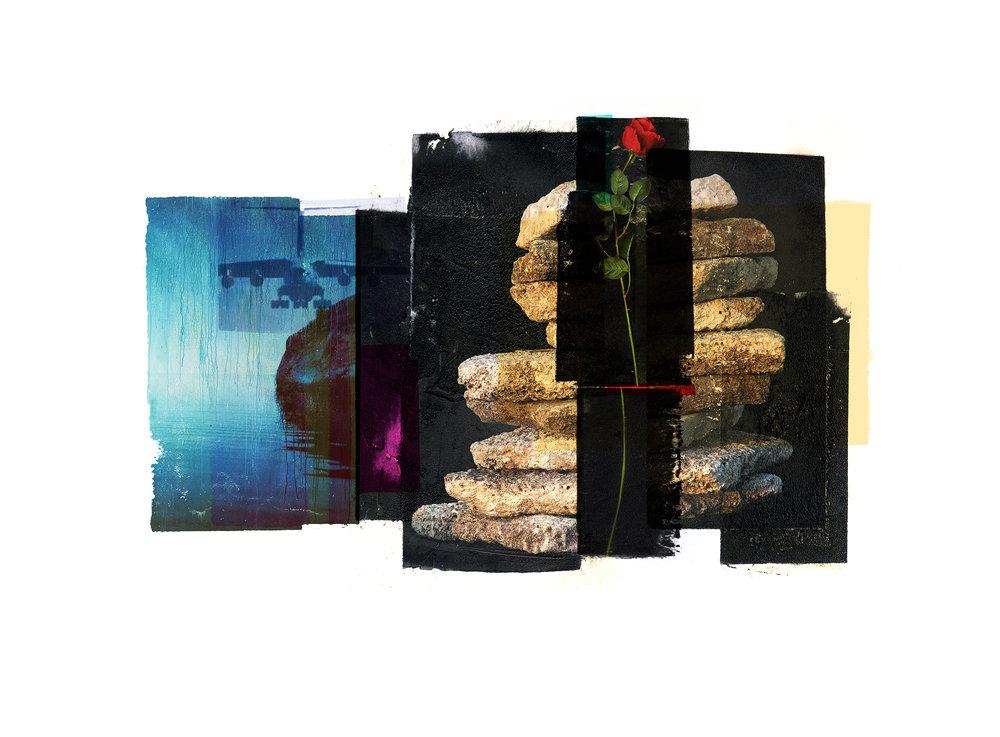 1450 / Shipreck / NYH  Original Archival UV Pigment Print / BFK Rives 250 gr 35 x 25 cm / 13,7 x 10 in Edition of 50 + 7 Ap Editeur: Per Fronth Studios / Printer Henrik Aunevik  10/2016: