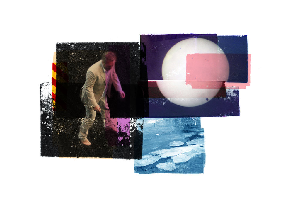 Gravity / Silence / Venus Passage   Photo litho/ BFK Rives 250 gr 35 x 25 cm / 13,7 x 10 in Edition of 100 + 20 Ap Editeur: IDEM PARIS / Per Fronth Studios  22/2015: