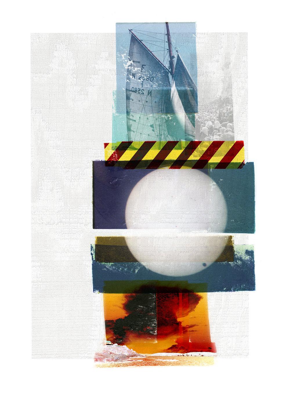 Venus Passage / Yarmouk / Borøya (Archipelago)  Original pigment print / BFK rives 250 gr 56 x 76 cm / 22 x 30 in Edition of 50 + 7 Ap Editeur: Per Fronth Studios / Henrik Aunevik  08/2014: