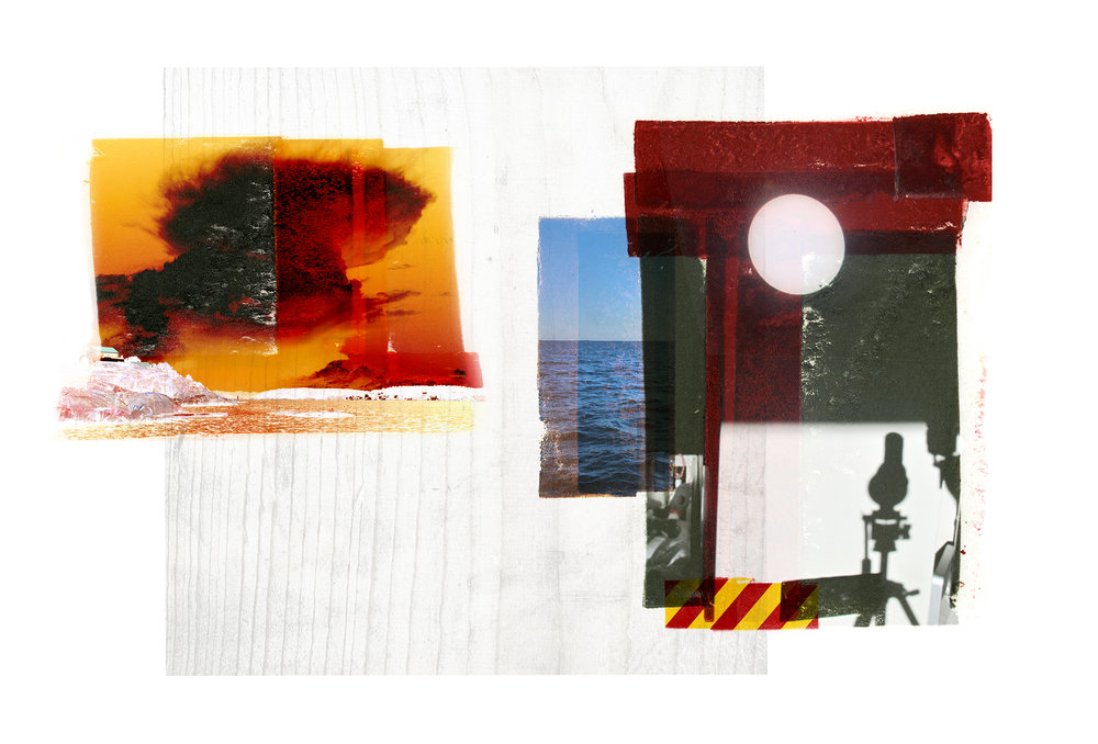 Ocular / Venus Passage   Original pigment print / BFK rives 250 gr 56 x 35 cm / 22 x 13,7 in Edition of 50 + 7 Ap Editeur: Per Fronth Studios / Henrik Aunevik  13/2014:
