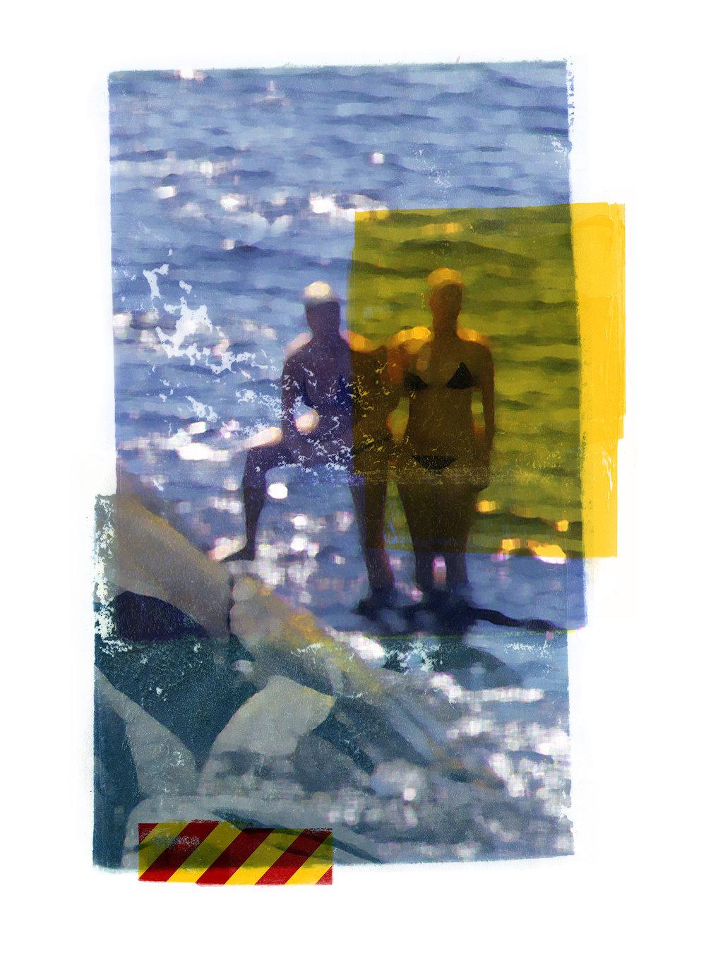 Zenit / Observation ( Melholmen)  Original pigment print / BFK rives 250 gr 56 x 76 cm / 22 x 30 in Edition of 50 + 7 Ap Editeur: Per Fronth Studios / Henrik Aunevik  14/2014: