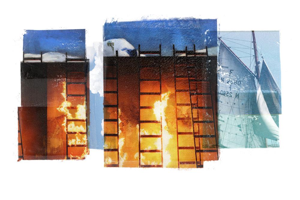 Venia / Inner Peace / Seasons   Original pigment print / BFK rives 250 gr 120 x 80 / 47 x 32 in Edition of 35 + 7 Ap Editeur: Per Fronth Studios / Henrik Aunevik  16/2014: