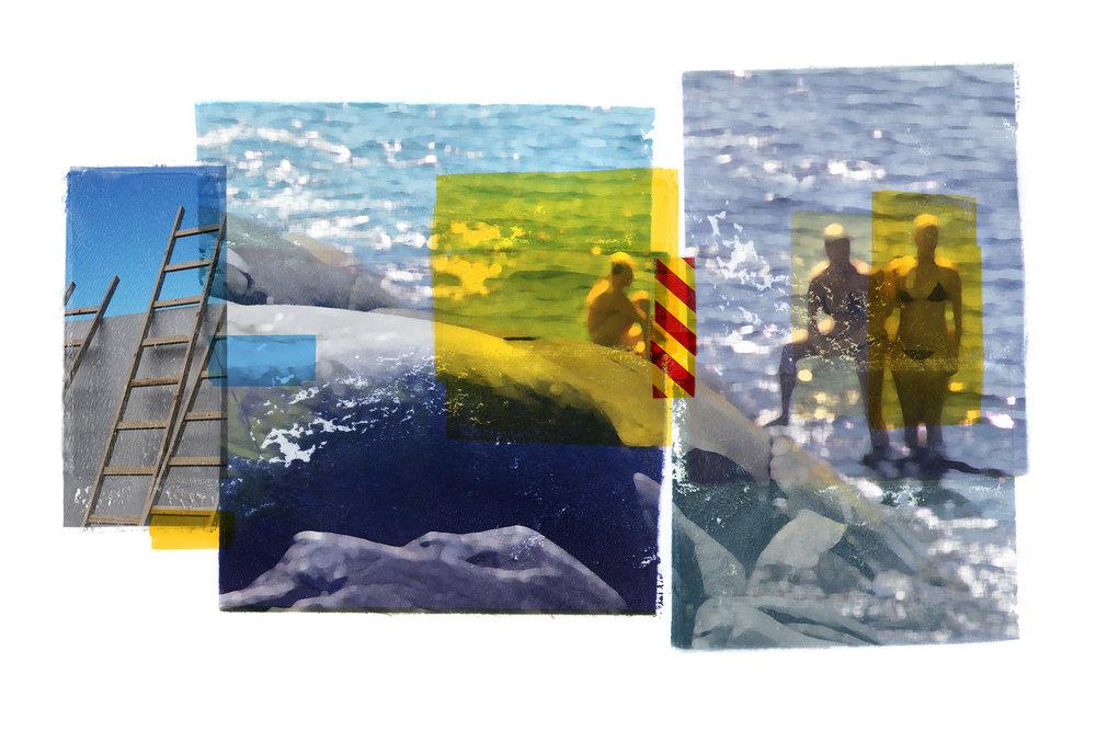 Zenit / Venia / Conversation  Original pigment print/ BFK rives 250 gr 120 x 80 cm / 47 x 32 in Edition of 35 + 7 Ap Editeur: Per Fronth Studios / Henrik Aunevik  17/2014: