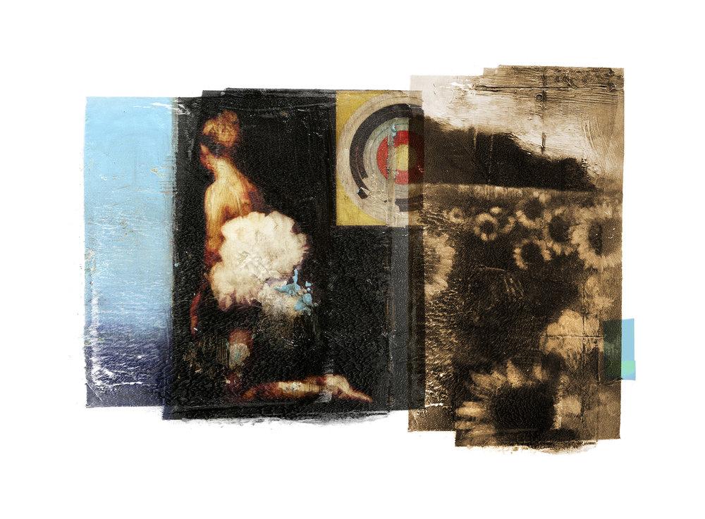 Conflict / Target / San Mori  Original pigment print / BFK rives 250 gr 25 x 35 cm / 13,7 x 10 in Edition of 50 + 7 Ap Editeur: Per Fronth Studios / Henrik Aunevik  18/2014:
