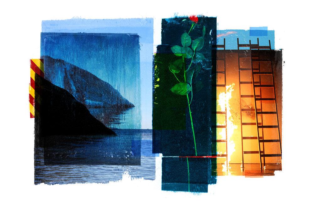 Venia / Rose / Olavsundet  Original pigment print / BFK rives 250 gr 120 x 80 / 47 x 32 in Edition of 50 + 7 Ap Editeur: Per Fronth Studios / Henrik Aunevik  24/2014: