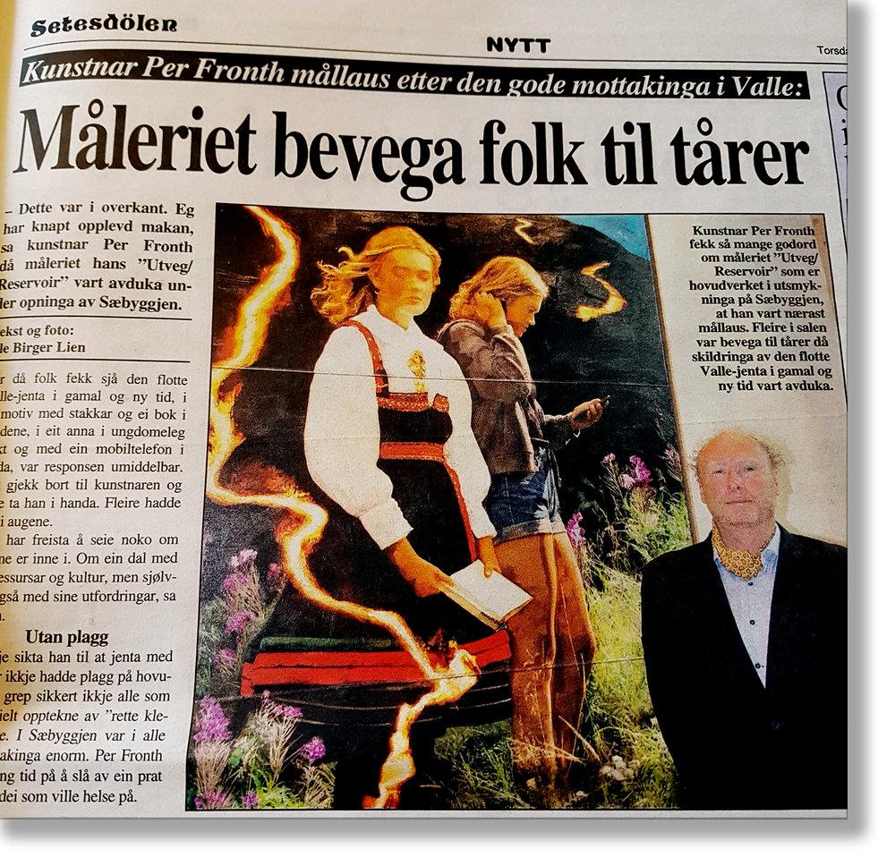 Facsimile Setesdølen