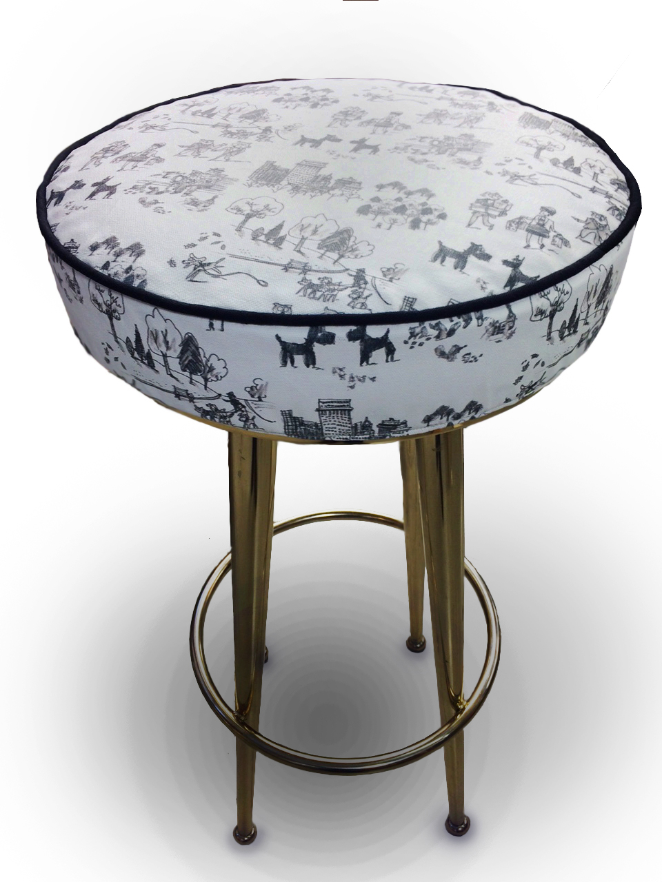 Stool Cushion For Kate Spade