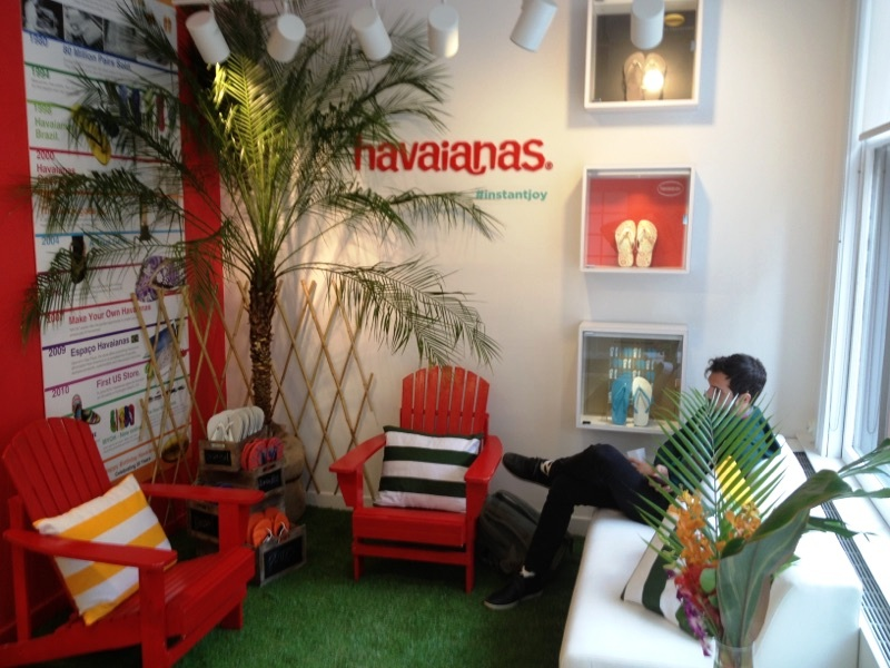Pillows and Styling for Havaianas