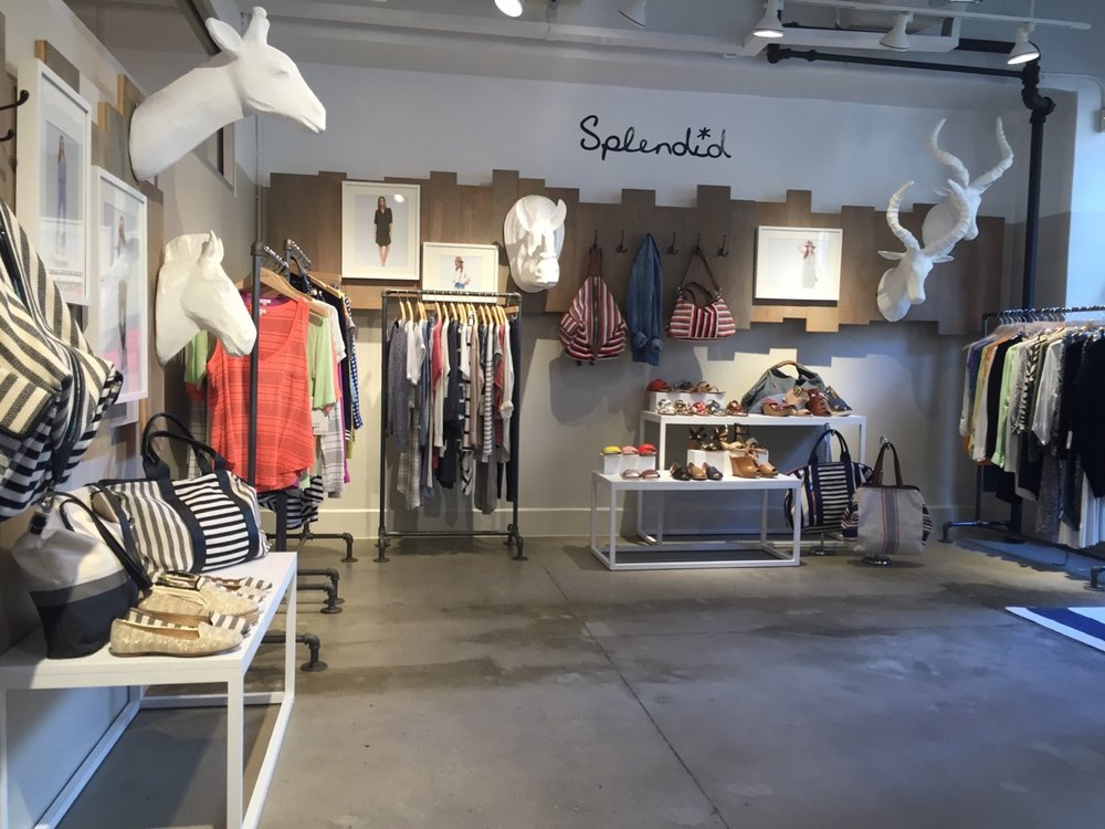 Visual Merchandising and Styling for Splendid