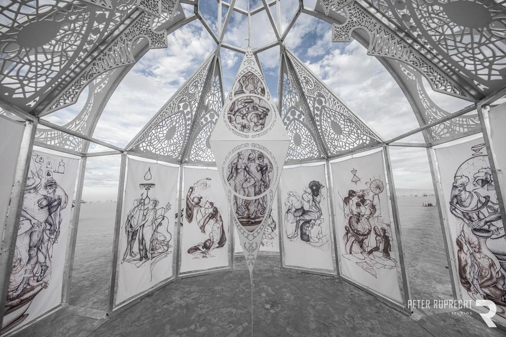 Printed Banners for Maria Kreyn Burning Man Festival 2016