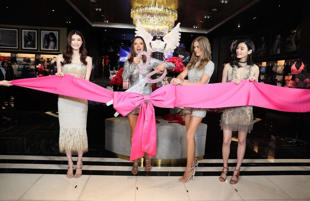 Victoria's Secret Grand Opening Ribbon & Bow