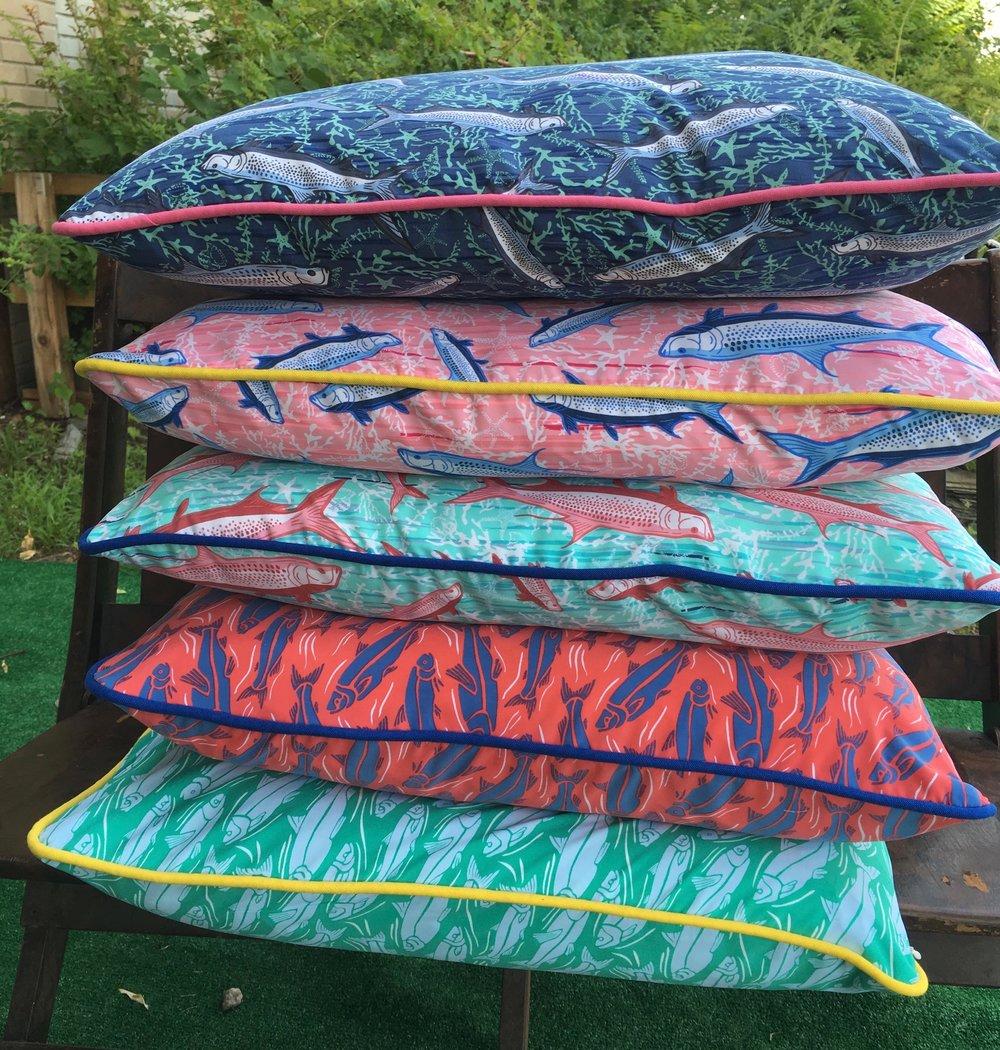 Pillows for Vineyard Vines
