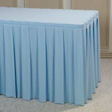 Boxed Pleat Tablecloth