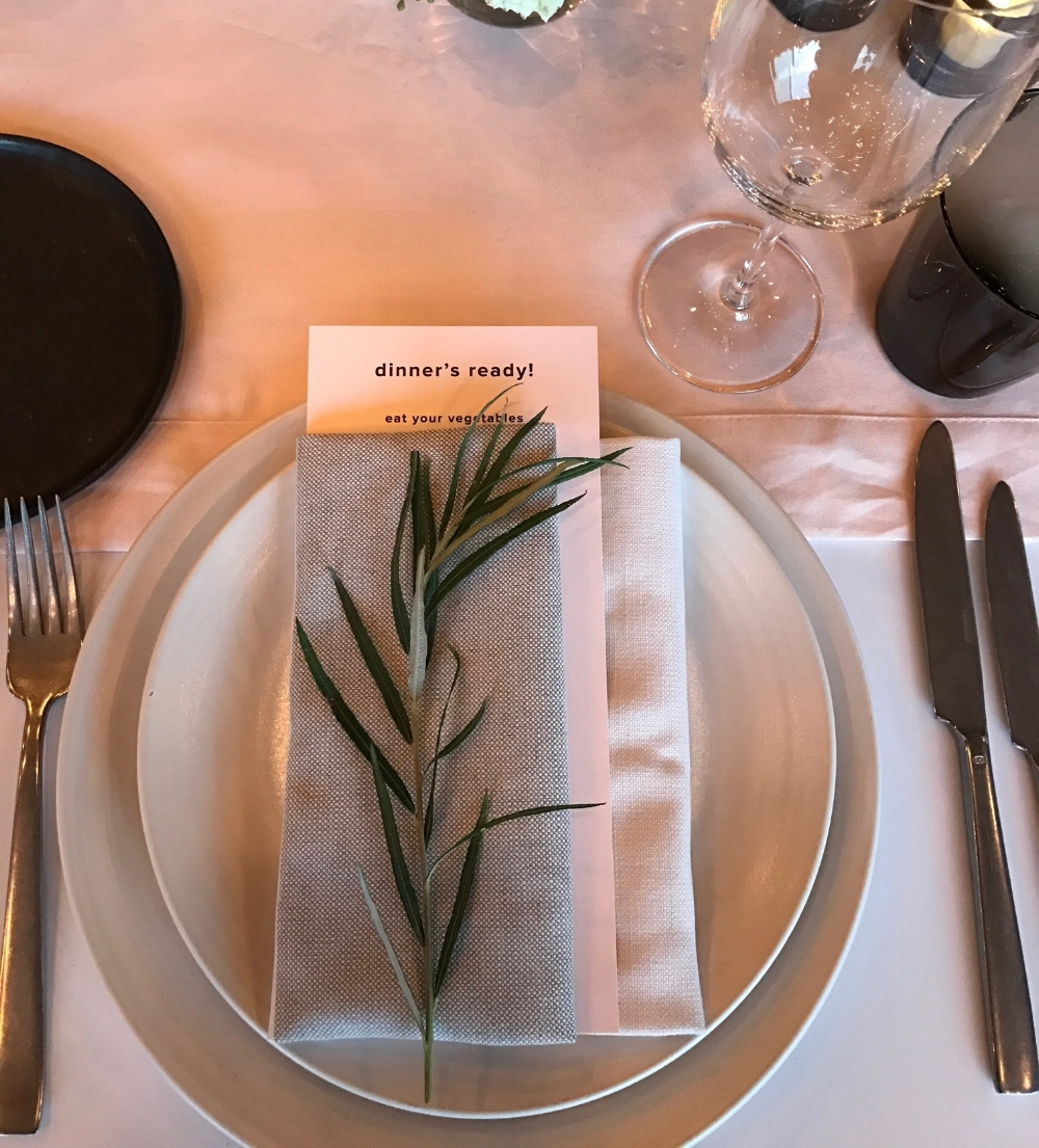 Linen Place Setting