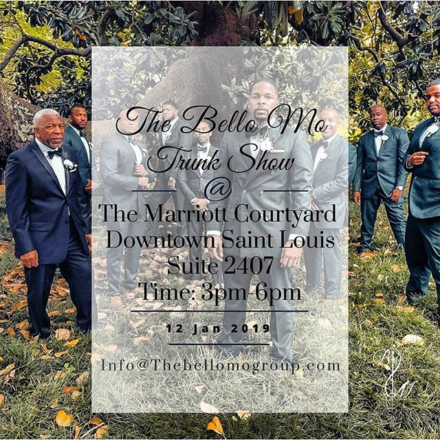 They say its just threads, buttons and fabric.. but we do it the best!  STL please join us this Saturday January 11th at the Downtown Courtyard Marriott on Washington Avenue from 2pm to 5pm.  The process is simple.. 1. Get full body suit measurements 2. Choose from over a 1,000 suit and shirt fabrics 3. Design and customize your suit