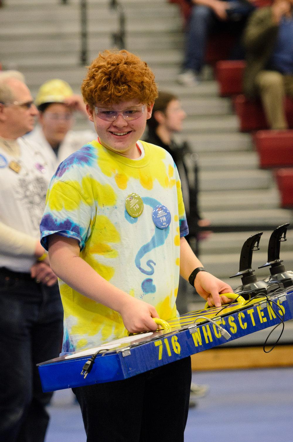 Jacob: Freshman  Programmer, Operator