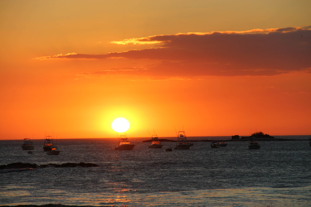 The sunsets in Costa Rica are the pinnacle of Pura Vida.