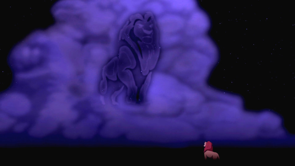 """Look inside yourself Simba. You are more than what you have become."""