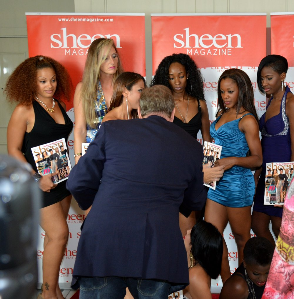 Sheen Magazine Photo Shoot