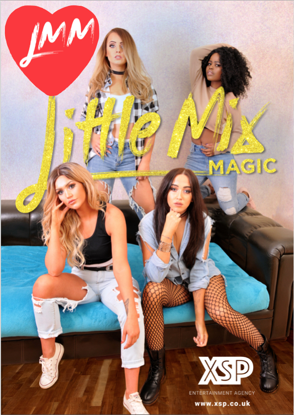 Little mix by lmm little mix magic xsp entertainments ex and after every show they enjoy a meet and greet with their audiences giving everyone a photo opportunity with the girls the lmm personal touch m4hsunfo