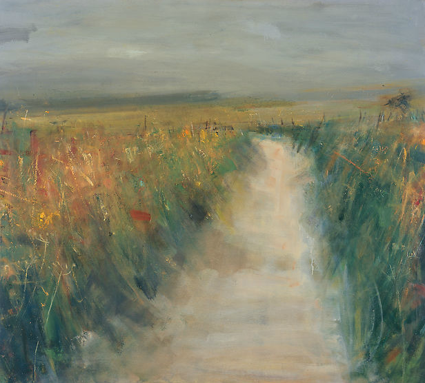 Autumn Lane.  Oil on board. 122 x 134cm  Sold