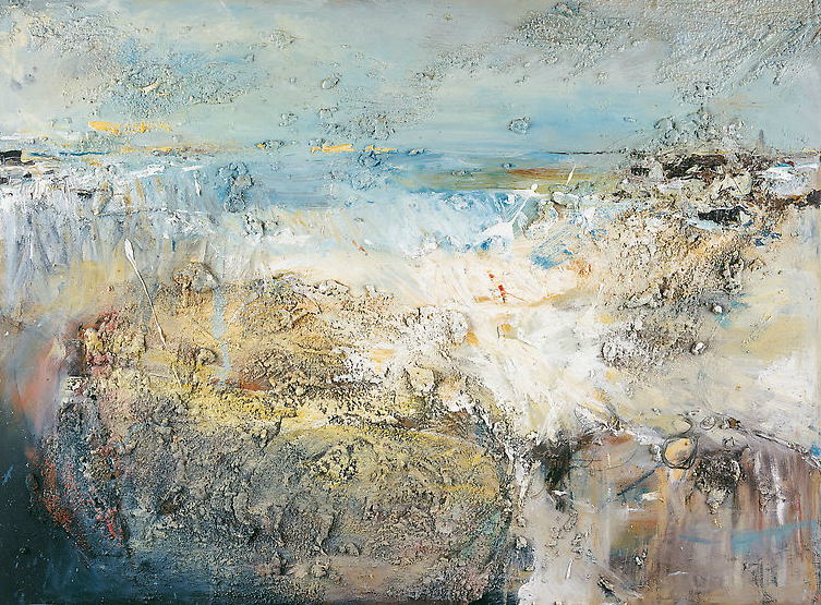 October Tides, Godrevy.  Oil on board. 90 x 122cm  NFS