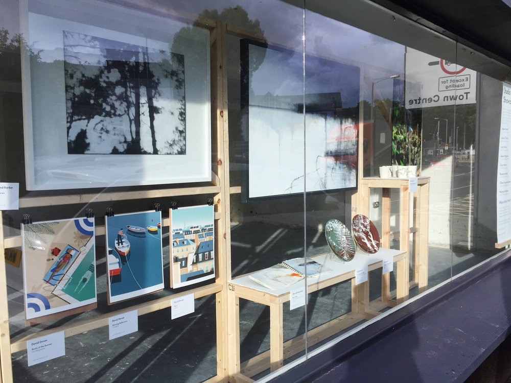 Grays Wharf recent window display