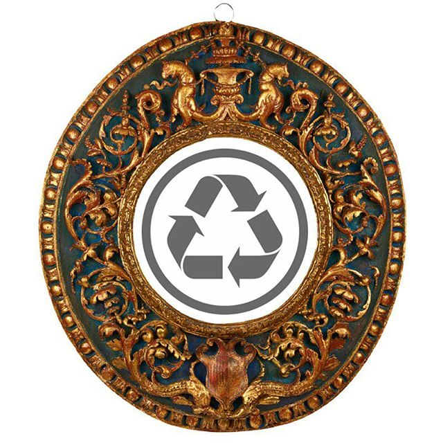 "Today, on International Recycling Day, we celebrate choosing antiques as one of the highest forms of recycling.  Handcrafted antiques from centuries past carry with them not only an essence of the maker, but a respect for the natural materials used to create them. When we invest, care for and treasure them, we create a future that holds our environment and each other with reverence.  Italian, Early 16th c. , 12"" diameter. #antiquesaregreen"
