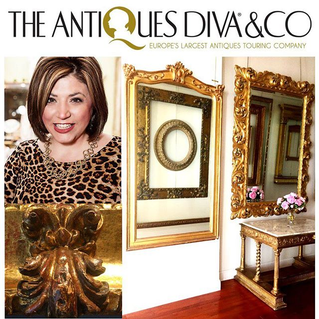 We're delighted to be featured in the Antique Diva's blog this week! The Antiques Diva & Co is THE match maker for antiques lovers and dealers.  It is the leading antiques touring company in the world!  Find out what treasures may be seeking you and how and where to find them #theantiquesdiva ! @theantiquesdiva