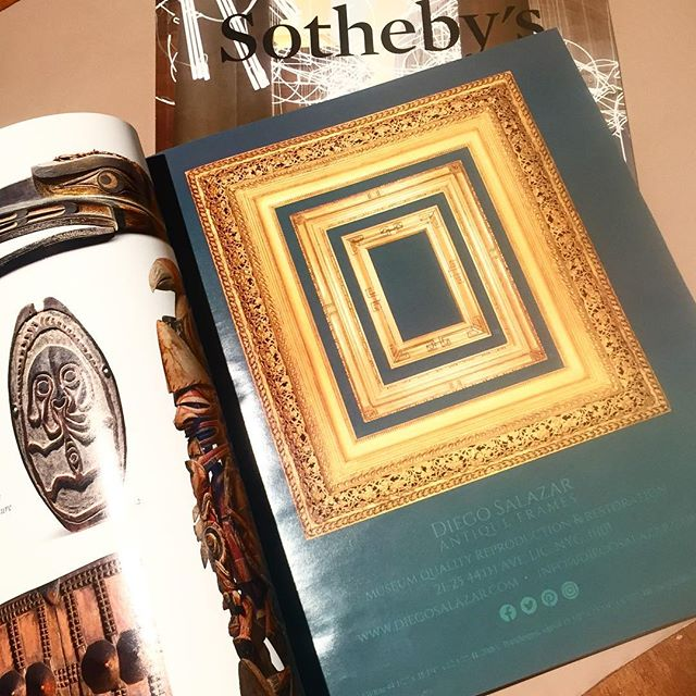 Rainy days are great for catching up on reading ☔️ Be sure to take a gander at our new beautiful ad in @sothebys magazine May edition. #rainydays #nyc