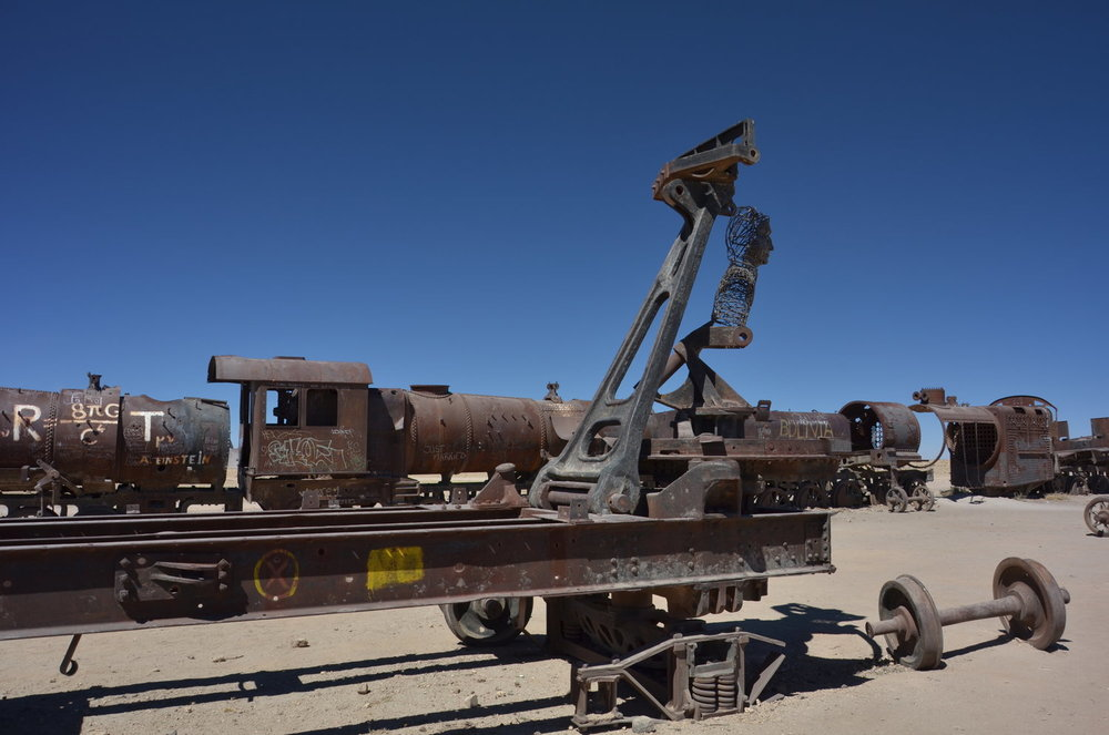 Train Cemetery, Uyuni Salt Flats Bolivia