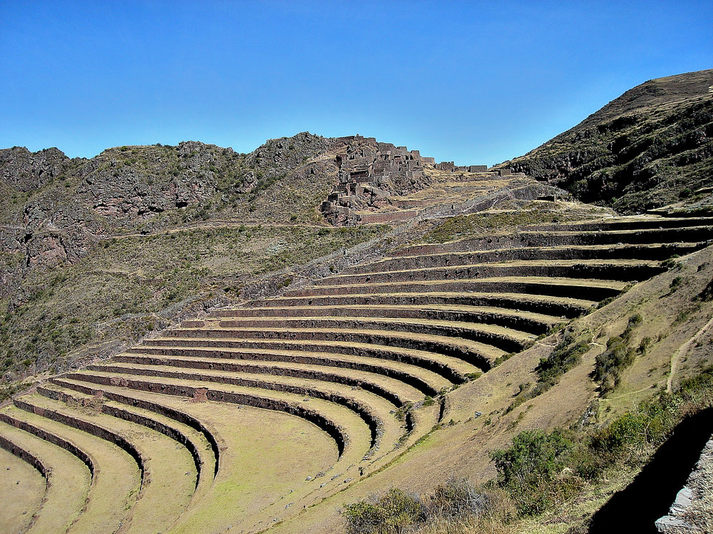 Pisac Archaeological Site Sacred Valley, Urumbaba