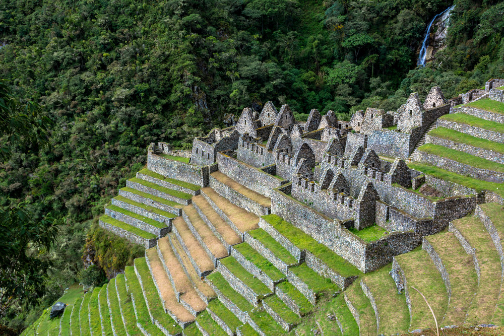 Winay Wayna Ruins, Inca village close to Machu Picchu, Peru