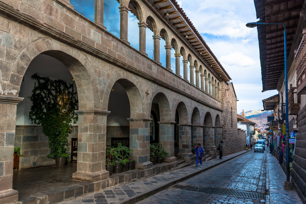 Streets of Cusco's downtown, Peru