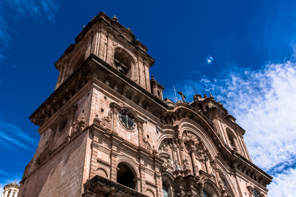 Colonial church @ Downtown Cusco- Peru