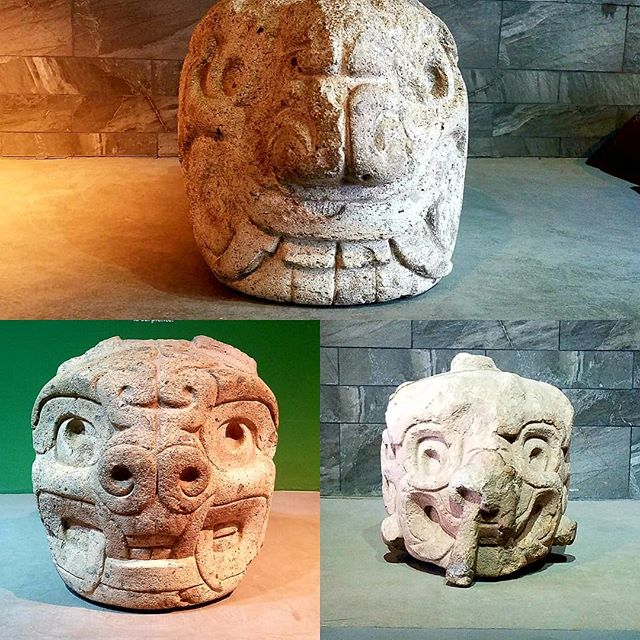 "3500 years old carved stones displaying zoomorphism with feline and reptile creatures of importance for the Chavin people such as puma and snakes. These were found in the walls of the temple as they feature long nail-shaped ""bodies"". • • • • • •  #followthepaths #travel #travelgram #ancientcivilizations #peru #landscape #nativepaths #art #adventure #trip #outdoors #exploring #passionpassport #instatravel #instamood #wanderlust #rad #photooftheday"