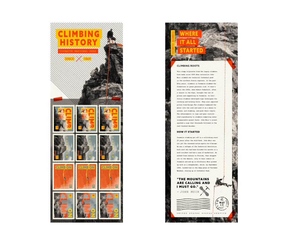 CLIMBING STAMP BOOKLET