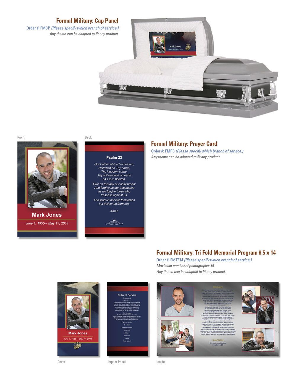 formal military theme page omega digital press