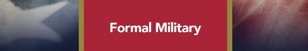 Formal Military - USMC