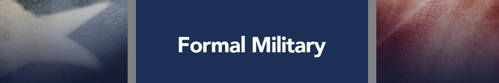 Formal Military - US Navy