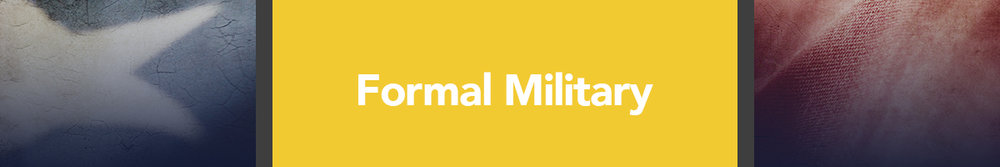 Formal Military - United States Army