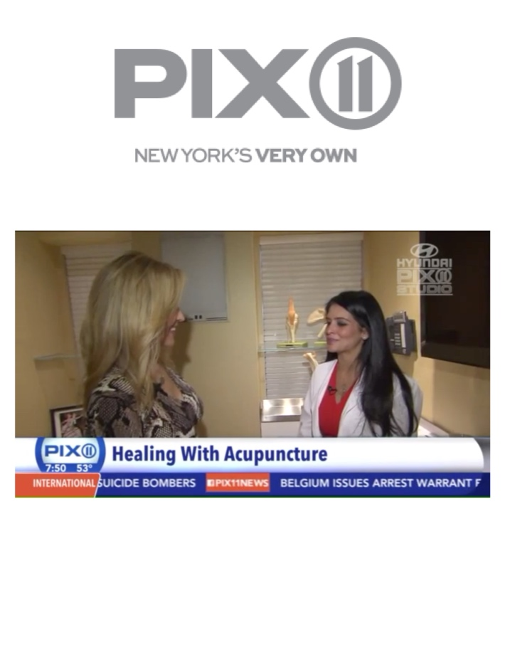 PIX 11   Dr. Juhi Singh treats pain and addresses underlining health issues with the ancient art of acupuncture.
