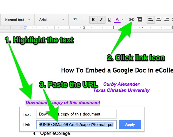 Outsmarting the LMS: Download Links for Google Docs — Curby