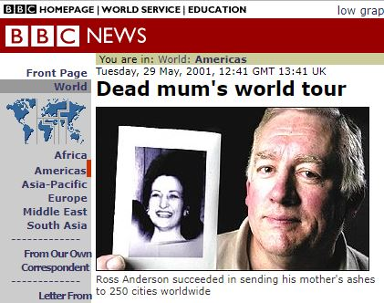 Dead Mum's World Tour