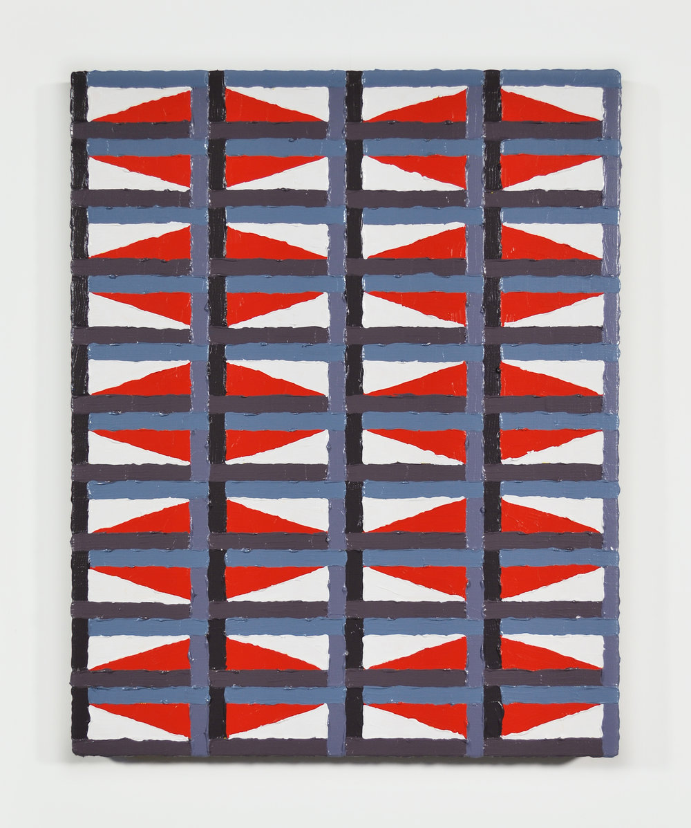 Custom Fencing Co.  Acrylic, canvas  16 x 20 inches   2013