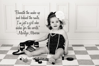 - Rosie has loved makeup ever since she was a little girl...her daughter Gianella seems to be following in her footsteps!