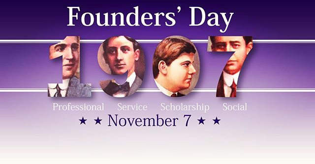 Happy national founders day! Celebrating the first four and their ambitions to make a marked change in the business world. Their spirit inspires us all! #proudtobedeltasig #dspbetasigma