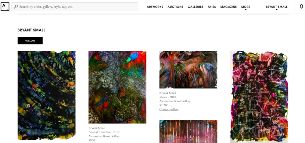 ARTSY.NET - Alessandro Berni Gallery Page