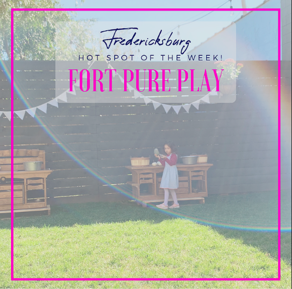 """Their motto is, 'pure play is our work', and they mean it!"" - Amber Dawson of House + Love = Home highlight's FORT as their hot spot of the week."